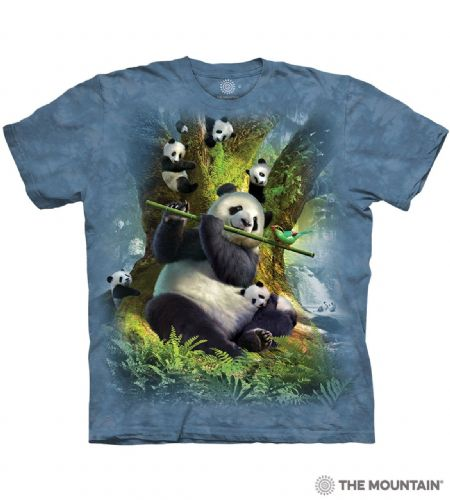 Pan Da Bear T-shirt | The Mountain®